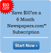 Save $10 on an Six Month Subscription Limited time.