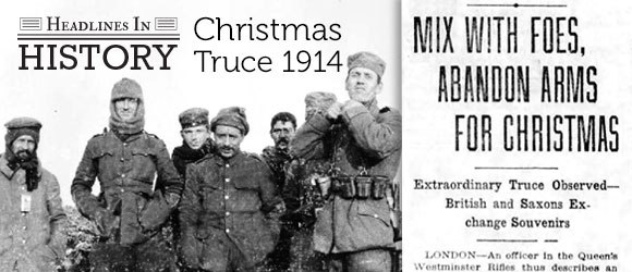 Christmas Truce Of 1914.100th Anniversary Of The Christmas Truce December 24 25